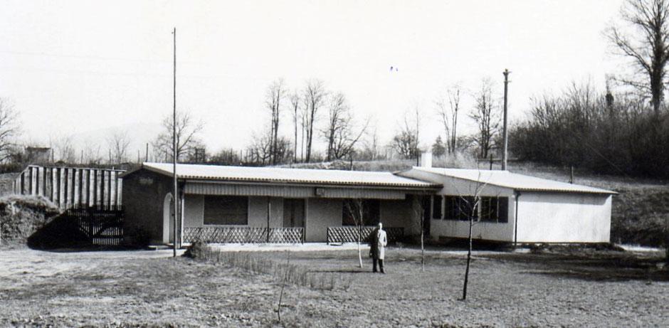 Fertigstellung Schützenhaus im Jahr 1957