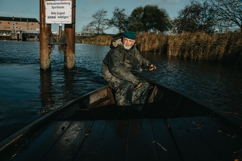 SamtweissundBling, Eider, Fischer, Reportage, Schleswig-Holstein, Wasser, Boot, Dokumentation