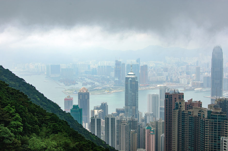 Hong Kong, China, The Peak