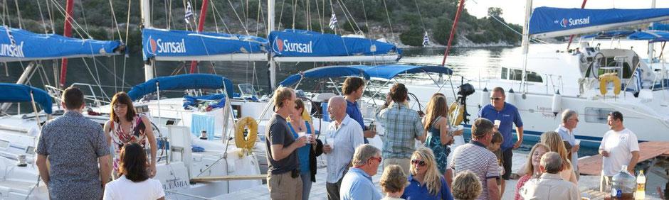Flottillensegeln mit Skipper ab Marina Agana Sunsail Flottille