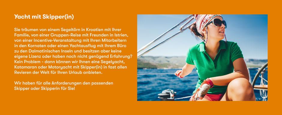 Kojencharter Yacht mieten mit Skipper