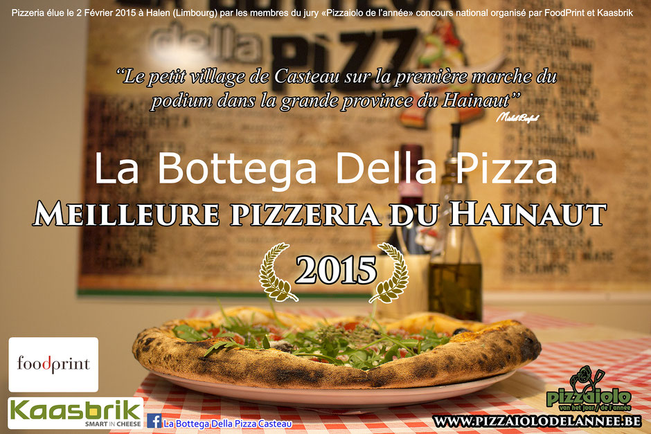 Meilleures pizzeria de la région du Hainaut, La Bottega Della pizza, Foodprint, guide culinaire et restaurent