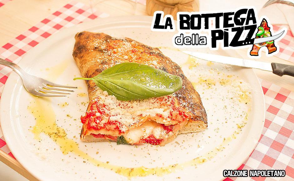 calzone napoletano, notre pizza farcie préférée, la bottega della pizza, casteau, mons, nimy, hainaut, Belgique