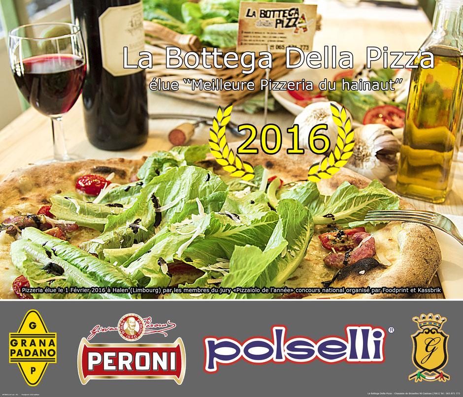 Pizzaiolo de l'année dans la région du Hainaut, par Foodprint et Kassbrik, grand concours national des meilleure pizzas de Belgique