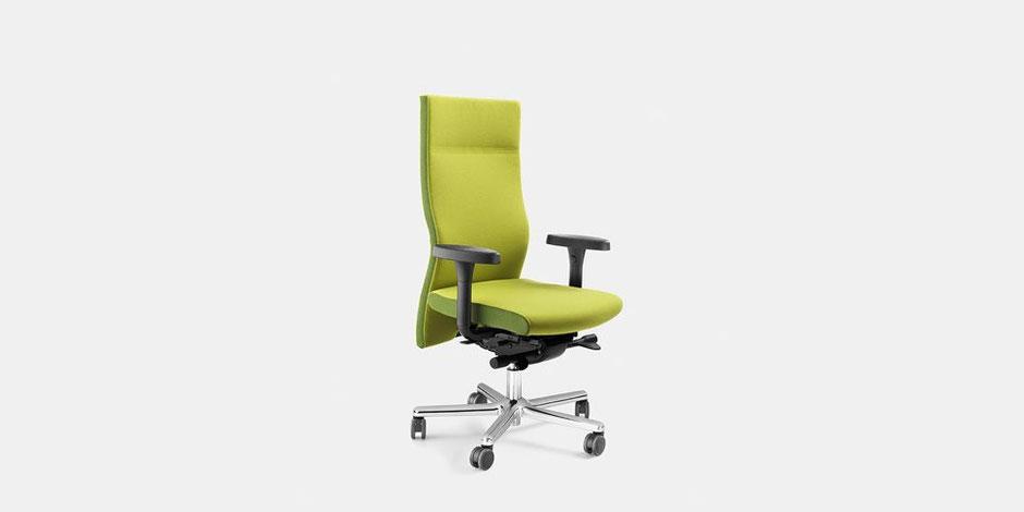 Grüner Bürostuhl von Löffler bei Dolce Vita
