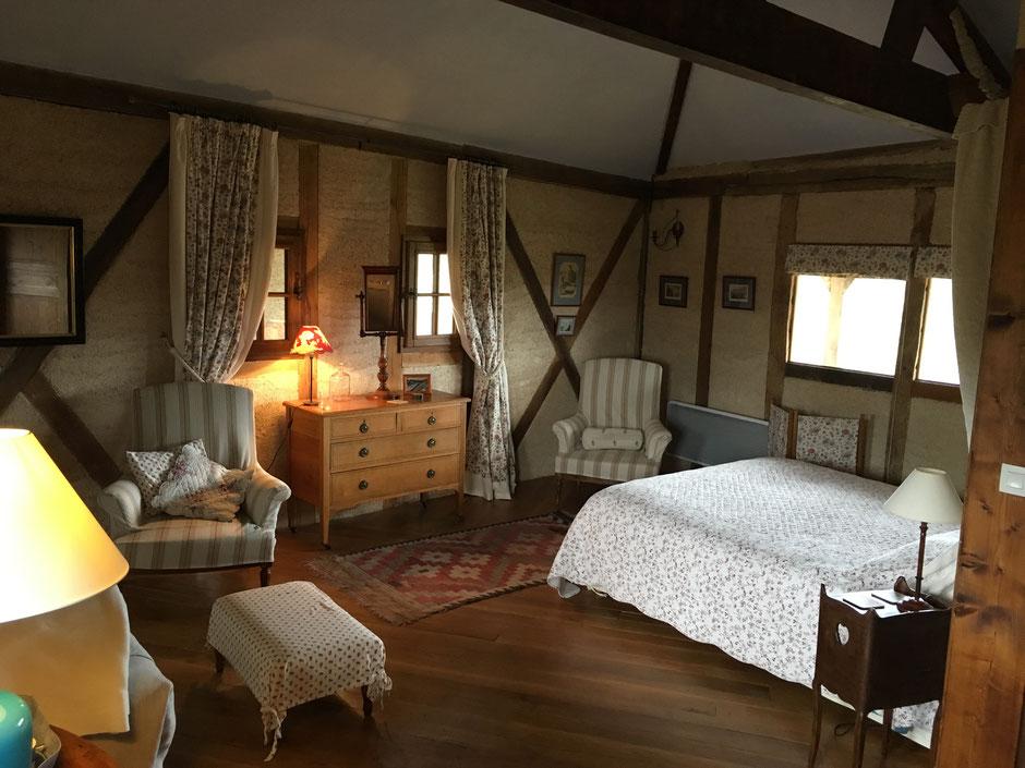 Chambres d'hôtes château de Mayragues -Castelnau de Montmiral Tarn - Chambre Braucol