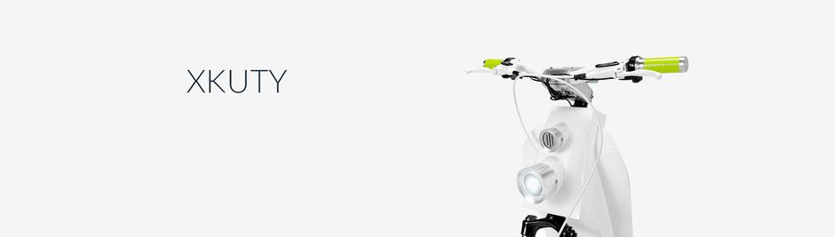 ¿QUÉ ES XKUTY? Una nueva forma de transporte, una bicicleta sin pedales o una bicicleta ligera. Silencioso, fácil de usar