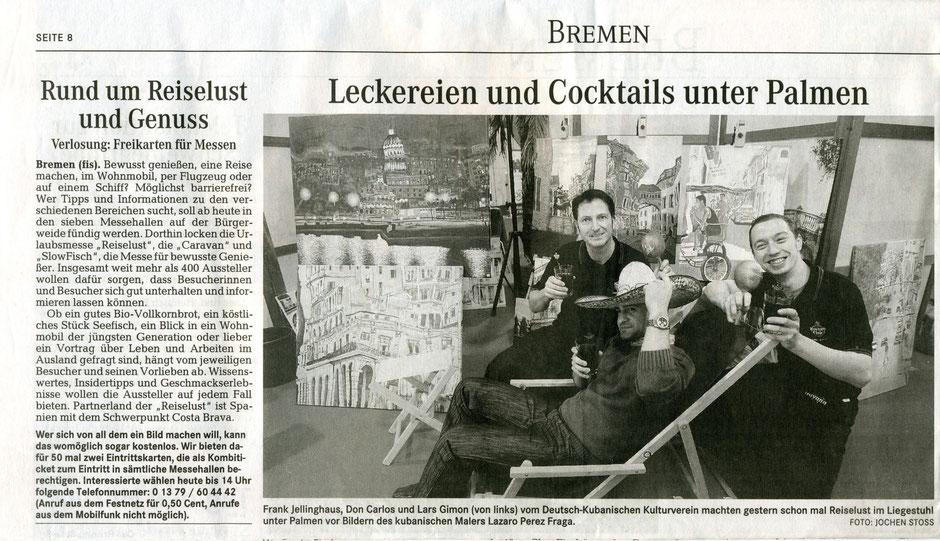 2009 November. Reise-Lust, Stadthalle Messe Bremen