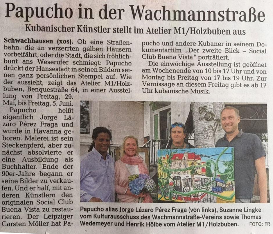 """2015 Mai 29. """"Papucho en la Wachmannstrasse"""""""