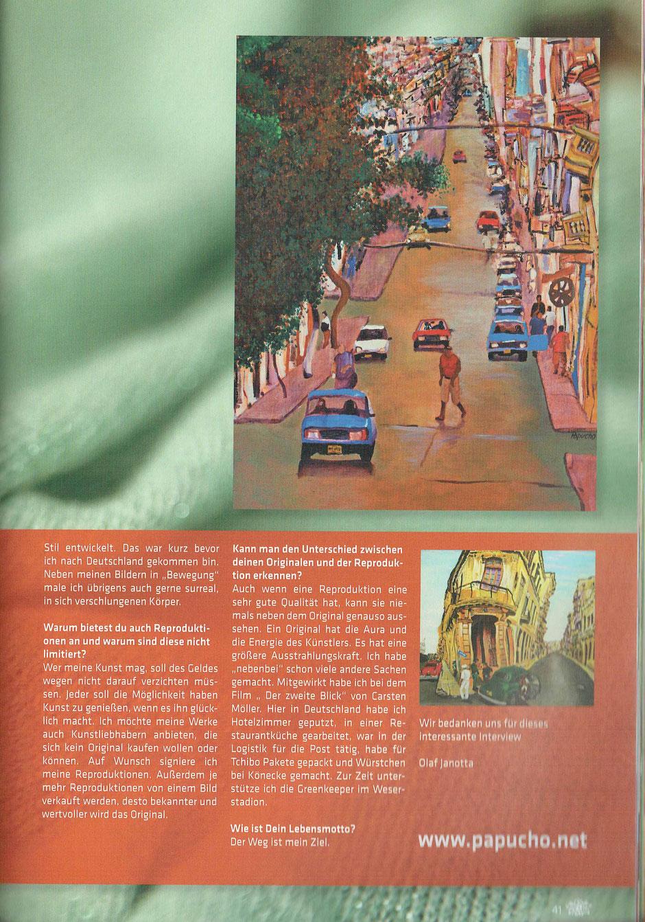 Havanna Lounge Magazin (Erste Ausgabe 2015)