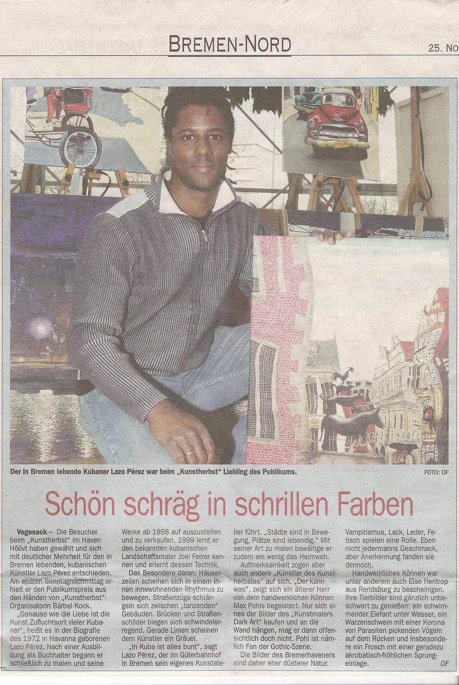"""2009 November 25. Hafen Hööv, """"Kunstherbst"""""""