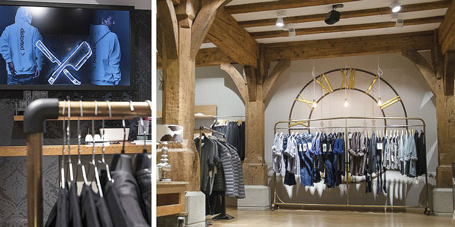 Digital Signage im Fashion-Retail Keller-Warth