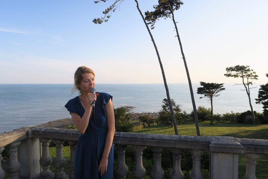 Chanteuse cérémonie laïque Seine-Maritime Le Havre Rouen Dieppe | musique live pour mariage 76