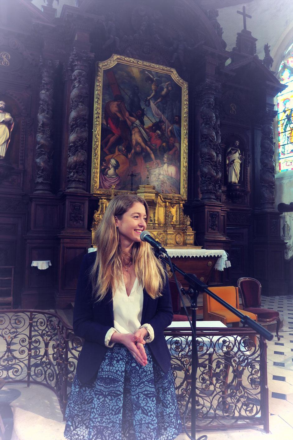 Chanteuse animatrice liturgique pour messe de mariage •chant chrétien liturgique & gospel •VIENNE MAINE ET LOIRE INDRE ET LOIRE LOIRET
