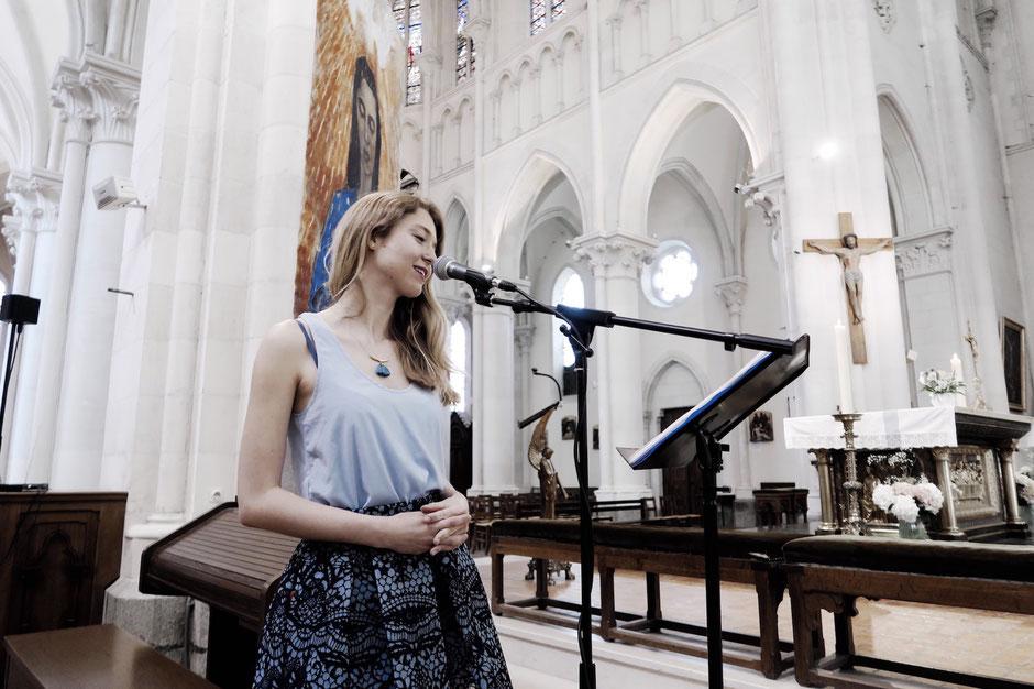 Chant religieux pour messe de mariage •chant d'église •animatrice chanteuse & pianiste •groupe de musique gospel •chant choral pour cérémonie •Maine et Loire Sarthe Mayenne Loiret Paris