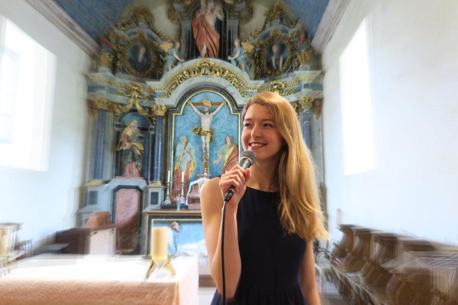 Chanteuse pour messe de mariage BRETAGNE NORMANDIE