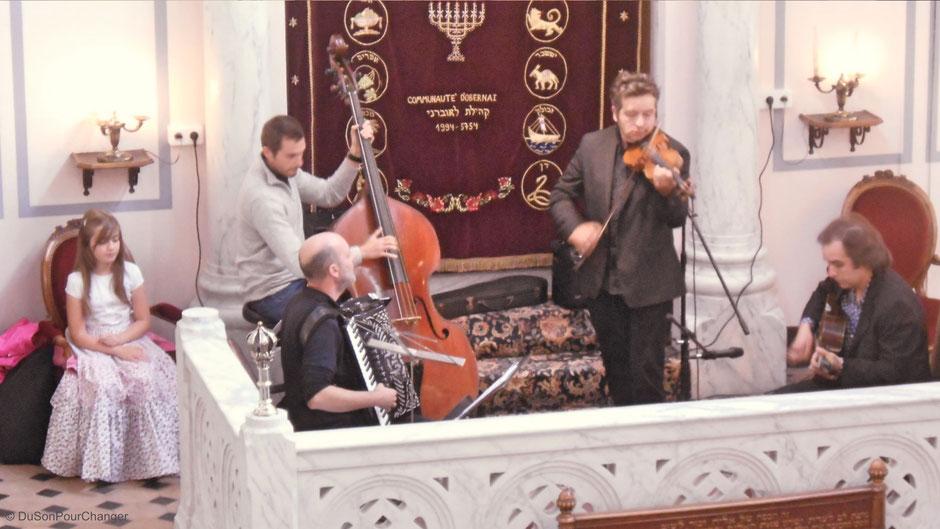 quartet Foulitchay à la synagogue d'obernai du son pour changer