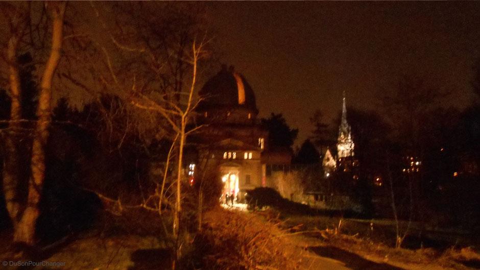 observatoire astronomique de strasbourg de nuit du son pour changer