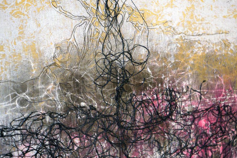 Katharina Lehmann, Transcendent Shapes no. 6, Ø 33 cm, 2019 · closeup 1