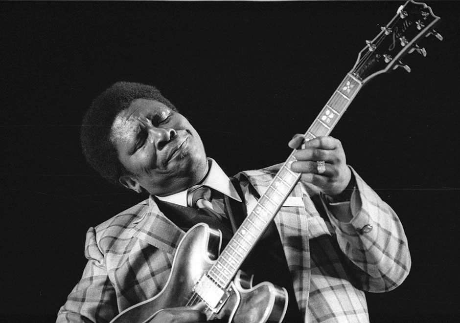 BB King. Orange 1979.