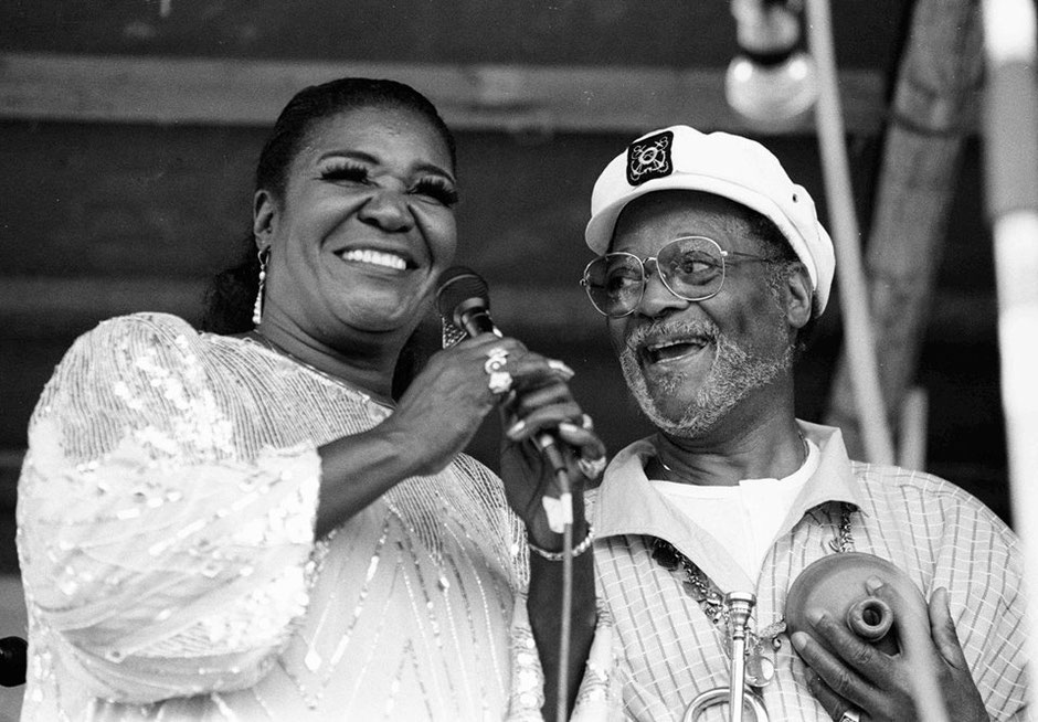 Carrie Smith et Clark Terry. Nice 1986.