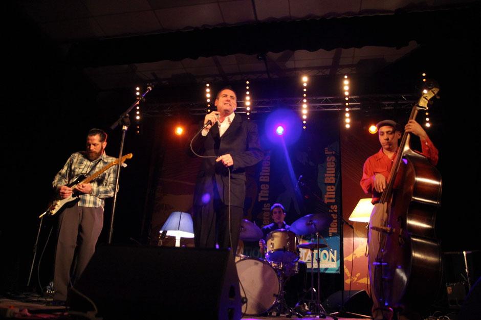 Nico Duportal (guitare et chant), San Pedro Slim (Harmonica et chant), Pascal Mucci (batterie) et AbdellB.Bop (contrebasse).