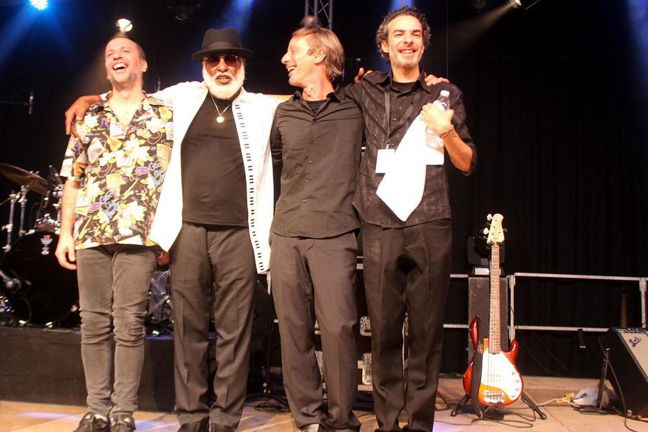 Pablo, Mo, Walter & Luca.