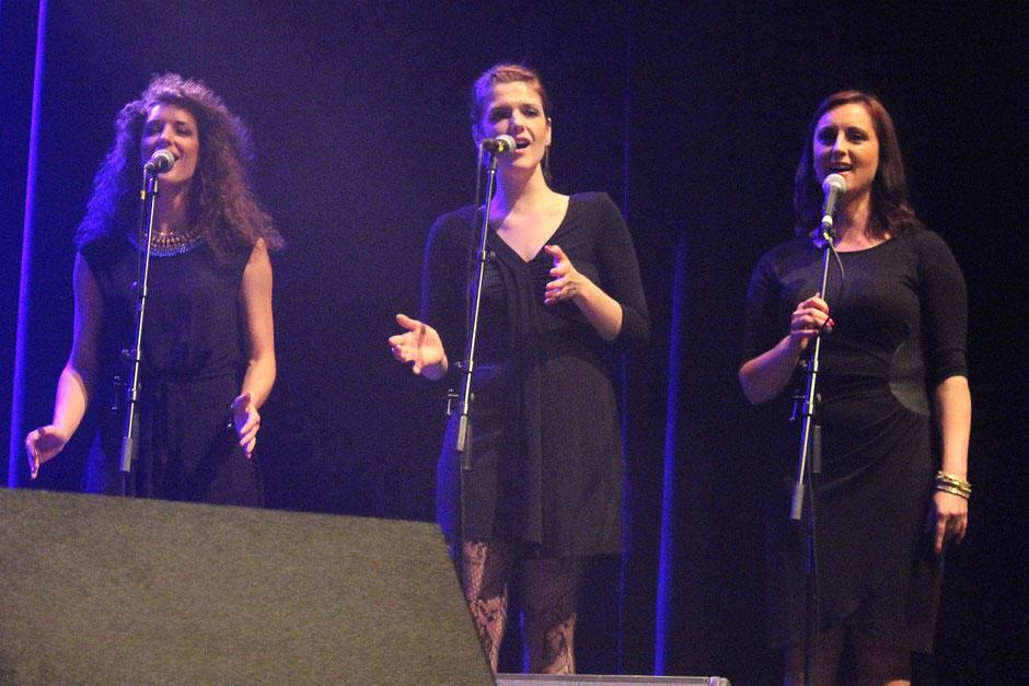 The Pearlettes. Katja, Blazka & Zanna.