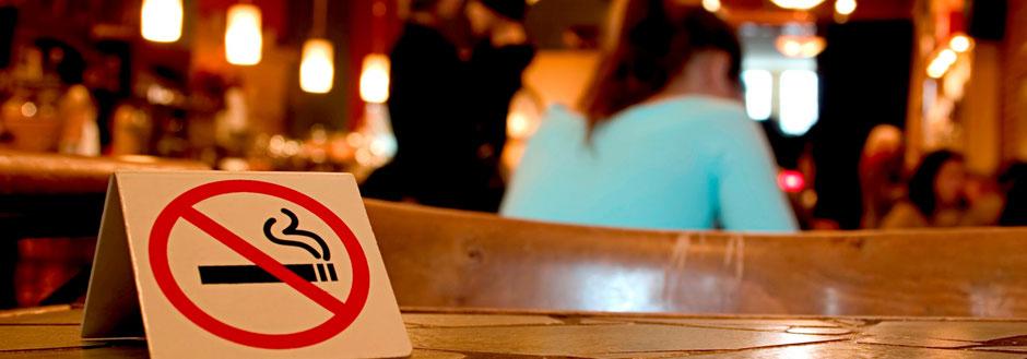 Raucher in der Gastronomie