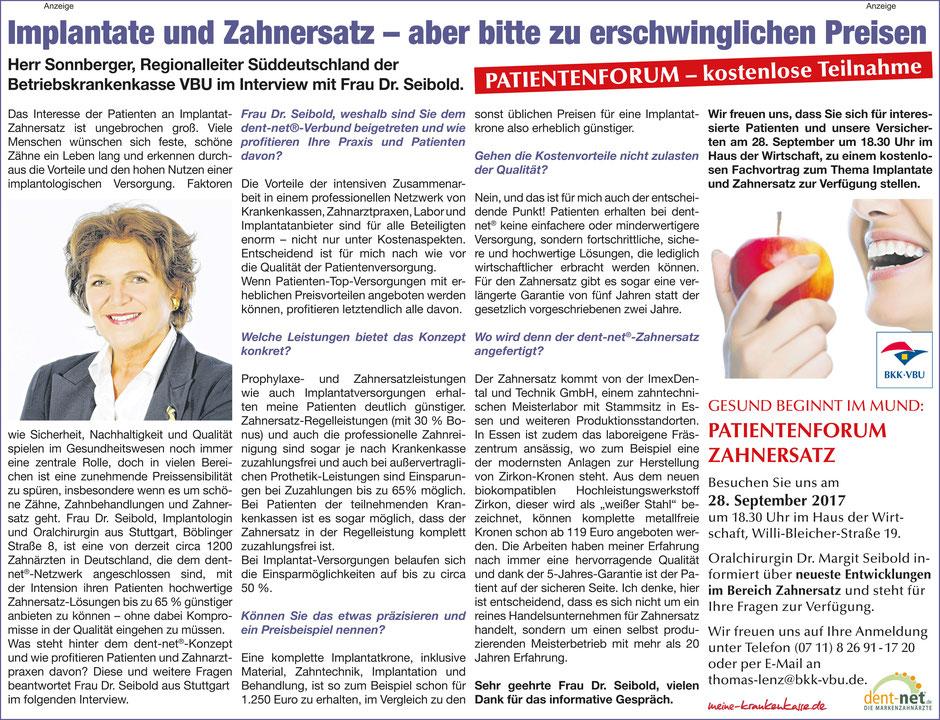 (Klicken Sie auf den Artikel für eine größere Ansicht) | Quelle: Stuttgarter WOCHENBLATT