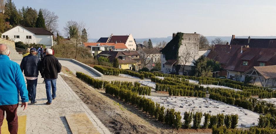 Führung durch die Menzinger Gärten Überlingen