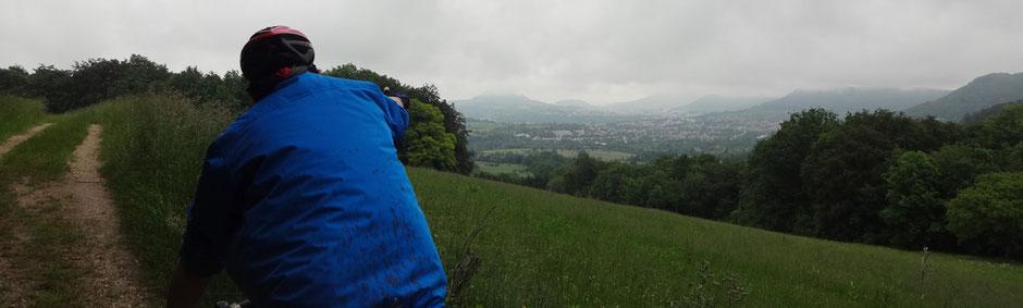 Blick auf Reutlingen, 5. Juni 2016