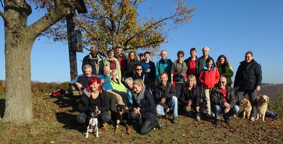 Gipfelkreuz im Naturschutzgebiet Haarberg