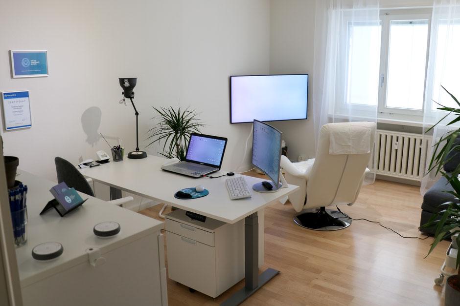 Praxisraum der Neurofeedback Zürich GmbH an der Bederstrasse in 8002 Zürich