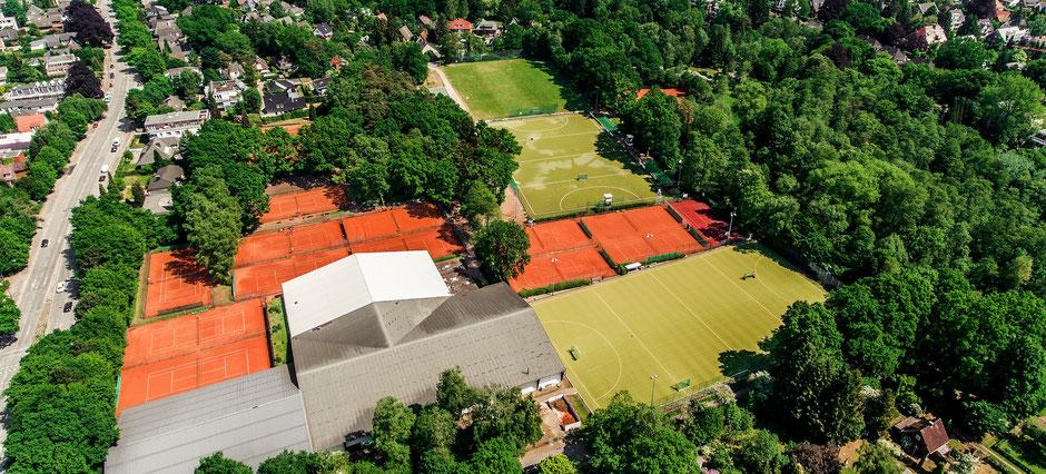 UHC aus der Luft. Super Bilder einer Drohne. c Luca Field
