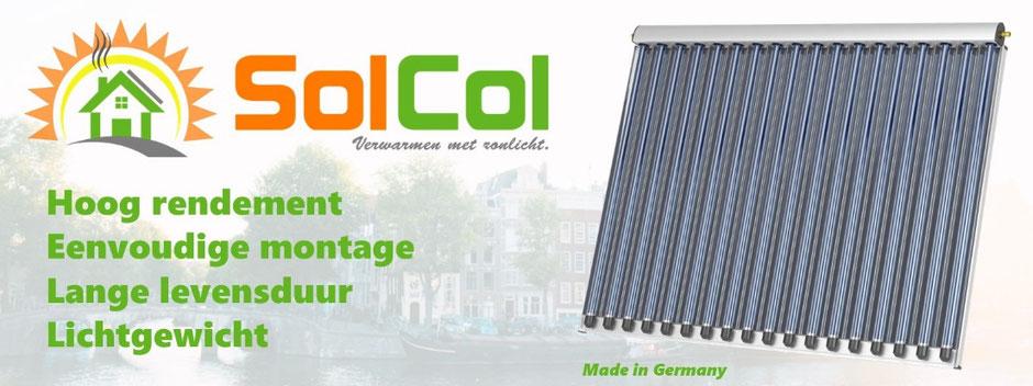 Zonneboilers en toebehoren SolCol
