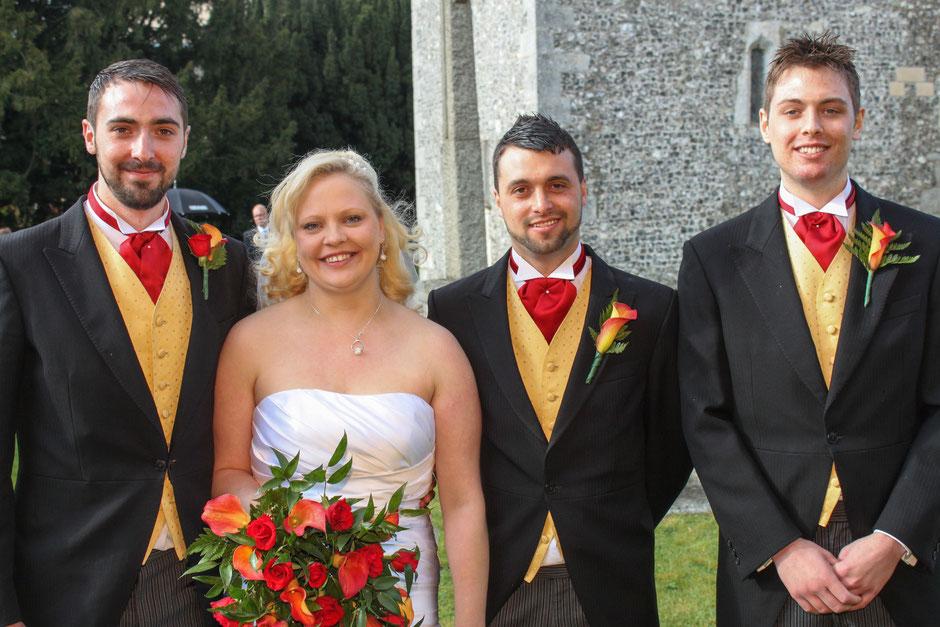 Hampshire Wedding Group Photo