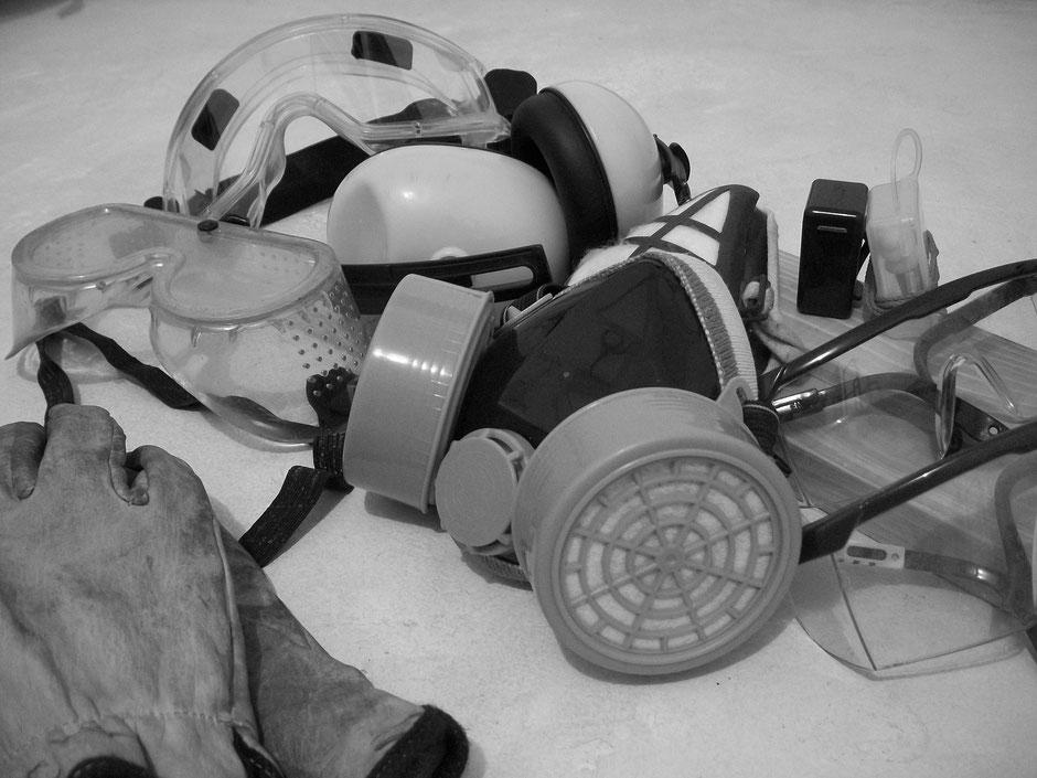 Lunettes de chantier et masques de protection pour le travail toute sécurité
