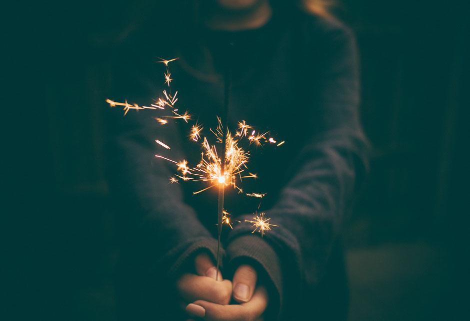 Neujahrsvorsätze erfolgreich, 2017 Erfolg Glück