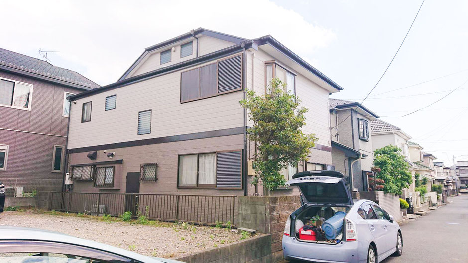鎌ケ谷市南初富の屋根外壁塗装 塗装後2