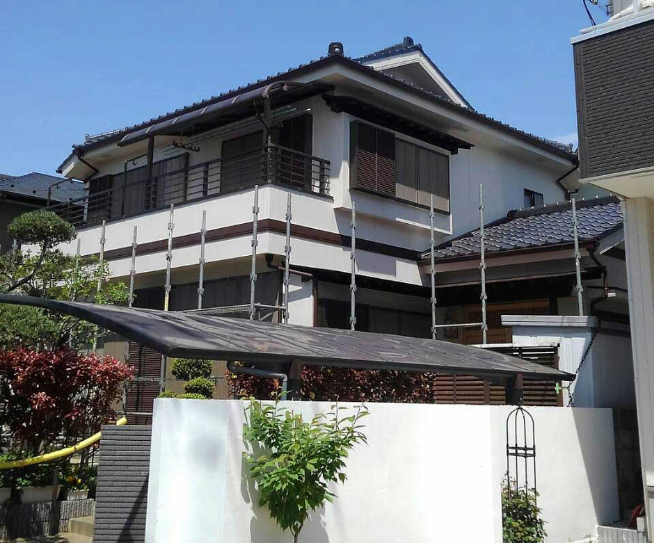 千葉県鎌ケ谷市 外層塗装工事後