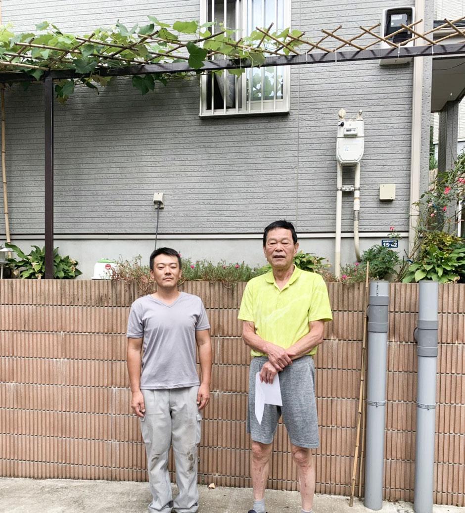 松戸市のアパート外壁塗装