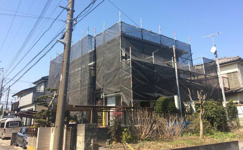 千葉市若葉区の塗装工事