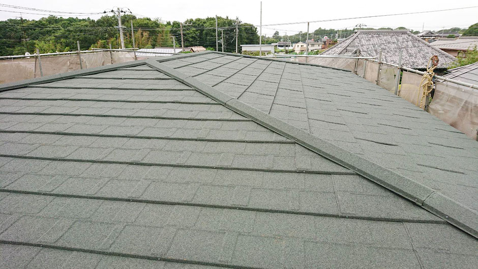 鎌ヶ谷市 雨漏りにエコラ屋根カバー工法