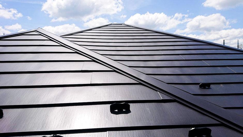 市原市ちはら台東の屋根カバー工法後の画像