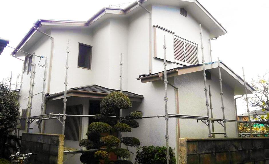千葉県鎌ケ谷市 外層塗装工事