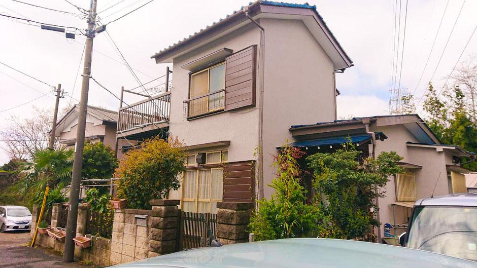 鎌ケ谷市東道野辺の外壁補修塗装と屋根修正の漆喰工事 完成後