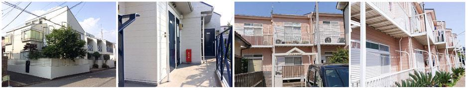 入居率を上げるアパート外壁塗装 千葉市 おまかせください!