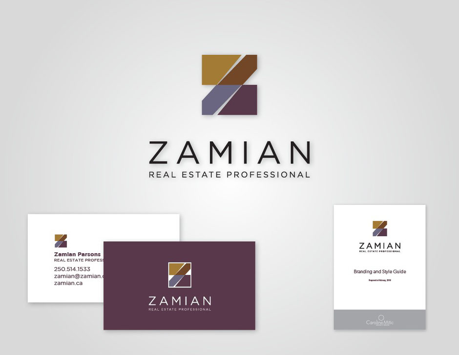 Zamian Logo by Caroline Mitic