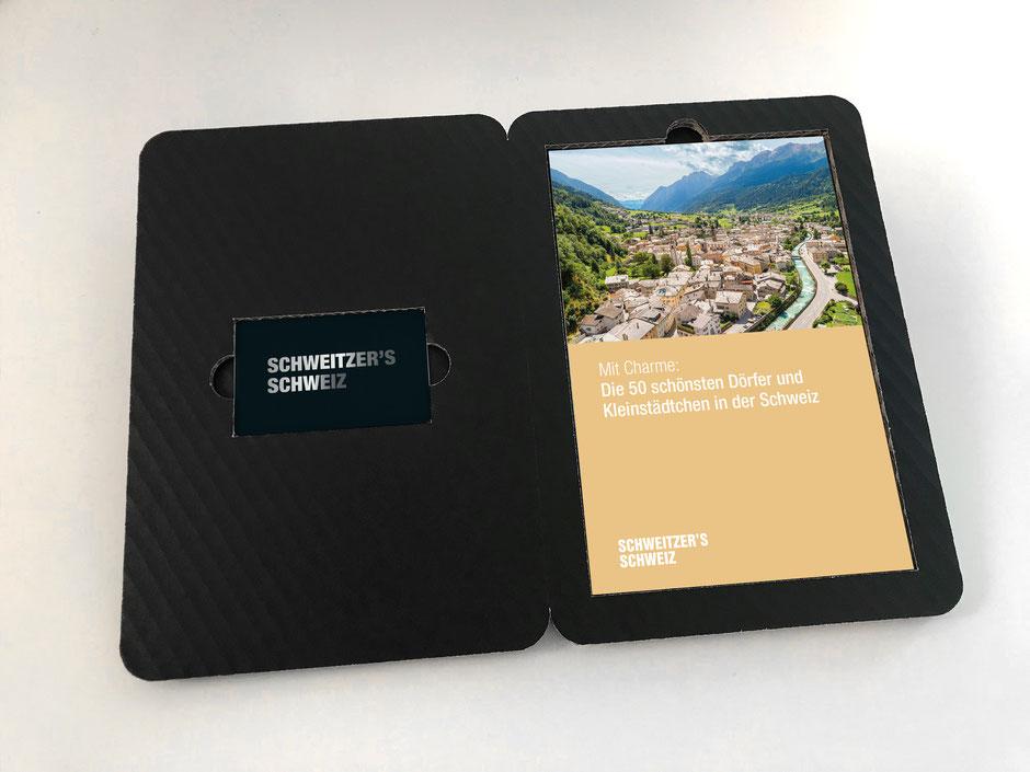 Weekendtipp-Booklet mit Membercard und exklusiver Verpackung